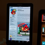 angry birds @ app store on samsung tablet